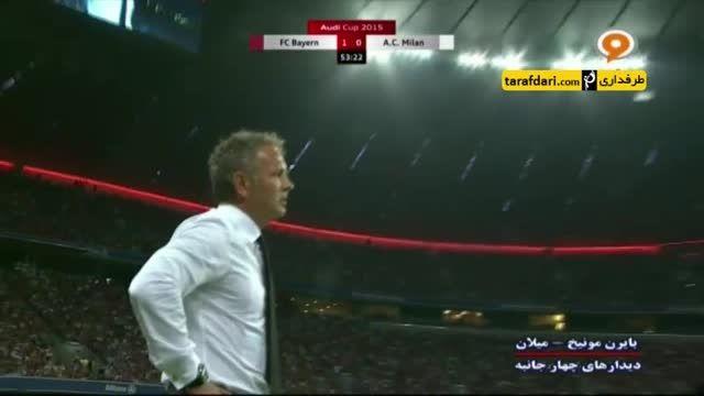 عصبانیت میهایلوویچ در هنگام لو دادن توپ توسط بازیکنانش