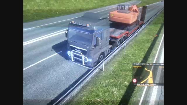 من خلافکار در euro truck