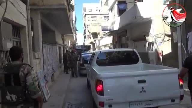 ادلب - اسارت تروریست ها بدست نیروهای دفاع وطنی