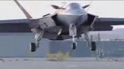 مانور نیروی هوایی امریکا+ تبلیغ جت عمود پرواز امریکا