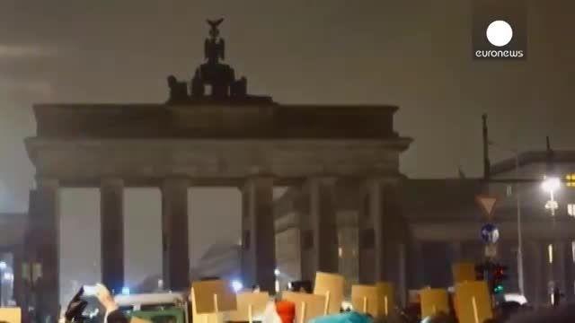 تظاهرات 18 هزار نفری آلمانی ها علیه گسترش اسلام