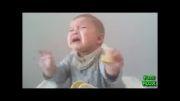 فوق العاده جالب عکس العمل بچه به خوردن لیمو ترش