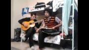 اجرای آهنگ نوار رضا یزدانی توسط فرزاد و حمید رضا