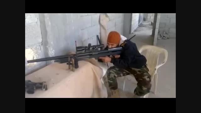 تک تیرانداز حزب الله عراق، شکارچی تکفیری های داعش