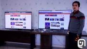 مقایسه کیفیت تصویر تلویزیون خمیده ال جی با سامسونگ