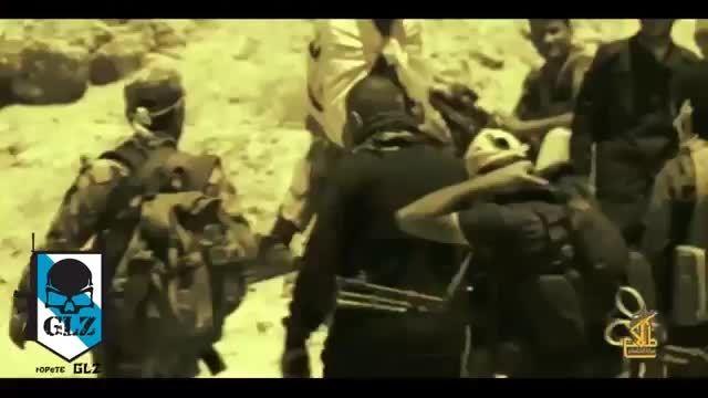 نیروهای شیعه ایرانی و عراقی به فرماندهی سردار سلیمانی