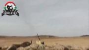 جنگنده وزدن پدافند هوایی تروریست ها