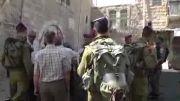 دستگیری کودک 5 ساله فلسطینی به جرم پرتاب سنگ توسط سربازان رژیم غاصب صهیونیستی