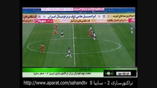 لیگ برتر 94 ، تراکتورسازی 2 - سایپا 0