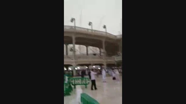 فیلم کامل تر سقوط بالابر در مسجدالحرام