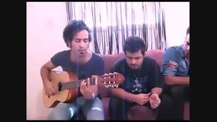 بهزاد پکس و احمد سولو با گیتار