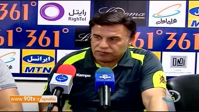 واکنش مظلومی به شیطنت های کرار و گلایه از تیم ملی