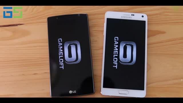 مقایسه سرعت و نتایج بنچمارک LG G4 با Galaxy Note 4