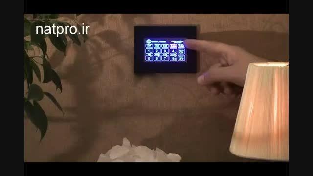 کنترل روشنایی هوشمند بی سیم پنل لمسی و موبایل اندروید