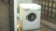 انفجار ماشین لباس شویی!