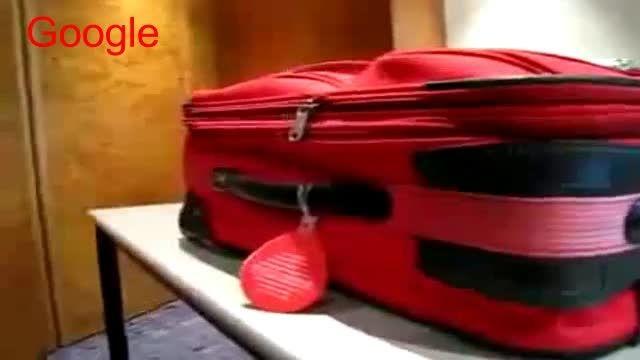 تیلیغ جالب چمدان!!