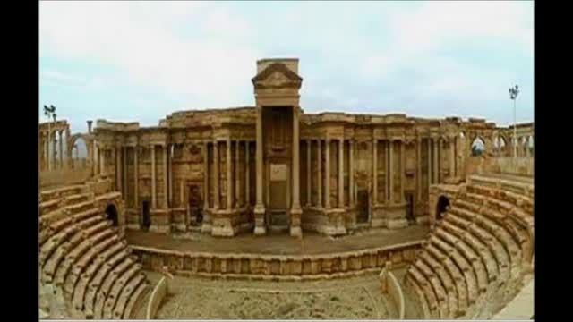 محل اعدام علنی چند ایرانی به دست داعش (پالمیرا ) سوریه