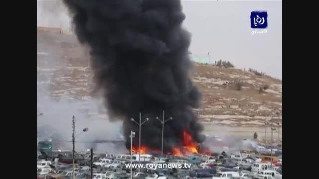 6 کشته در انفجار محموله ترقه در گمرک اردن!