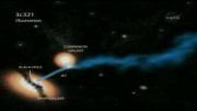 تصاویر ناسا از سیاه چاله های مرگبار