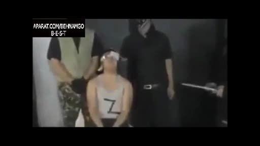 سر بریدن جوان 20 ساله توسط داعش
