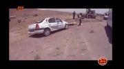 فیلم منتشر شده از تصادف خونین اتوبوس در جاده مشهد