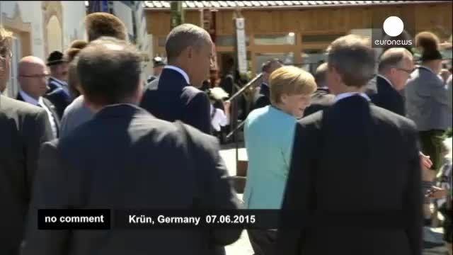 ملاقات مرکل و اوباما
