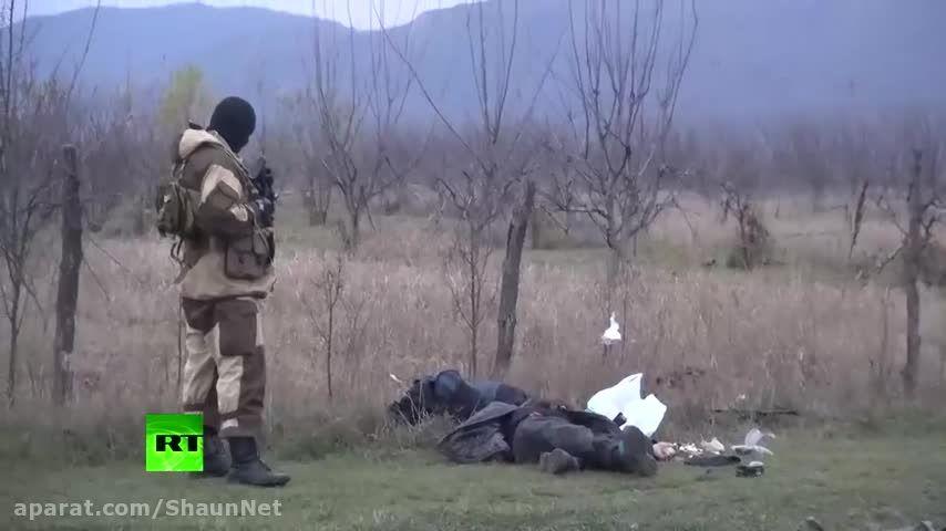 عملیات نیروهای ویژه کوماندوئی روسیه کشتن 3 داعشی ISIS