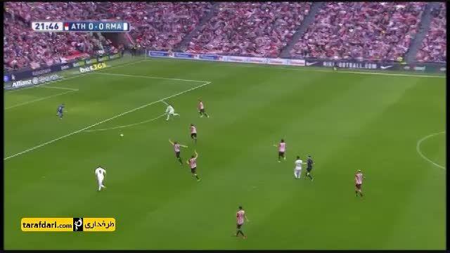 خلاصه بازی اتلتیک بیلبائو 1-0 رئال مادرید