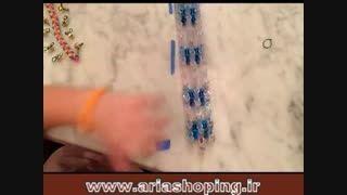 آموزش تصویری فانی بافت دستبند شماره 14