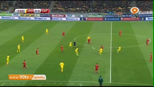حضور مخفیانه مورینیو در بازی اوکراین و اسپانیا