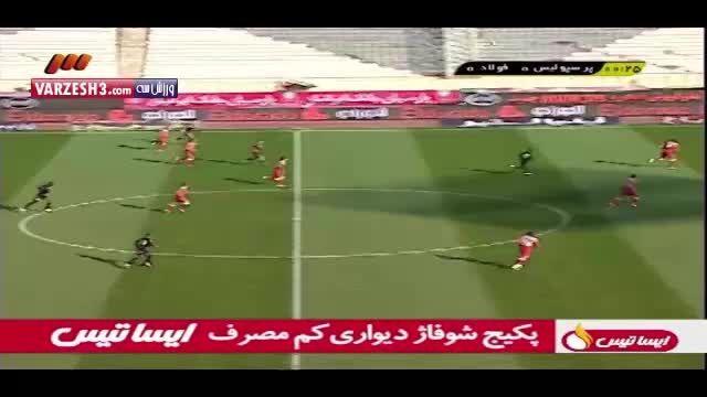 گل به خودی محسن بنگر سریعترین گل به خودی تاریخ لیگ
