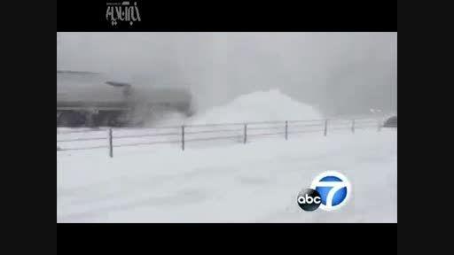 تصادف زنجیره ای 150 خودرو در آمریکا!!!!
