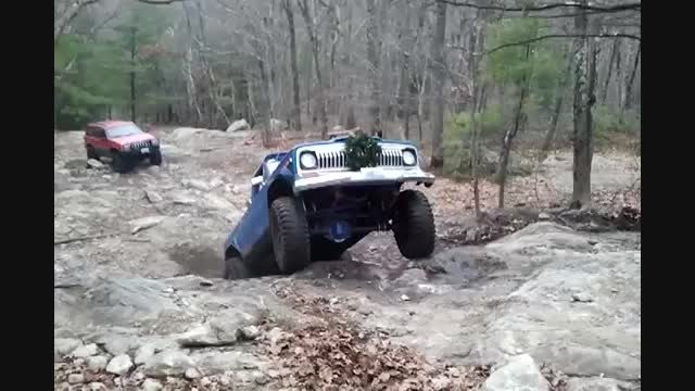 آفرود وانت جیپ سیمرغ (وانت آهو) jeep gladiator