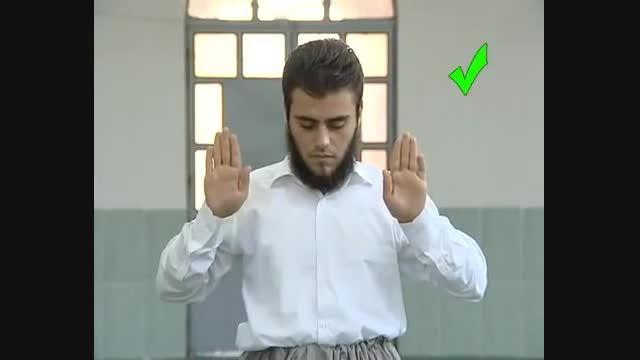 اشتباهات رایج در نماز