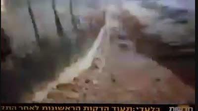 تصاویر کوتاه تلویزیون اسرائیل از محل عملیات حزب الله