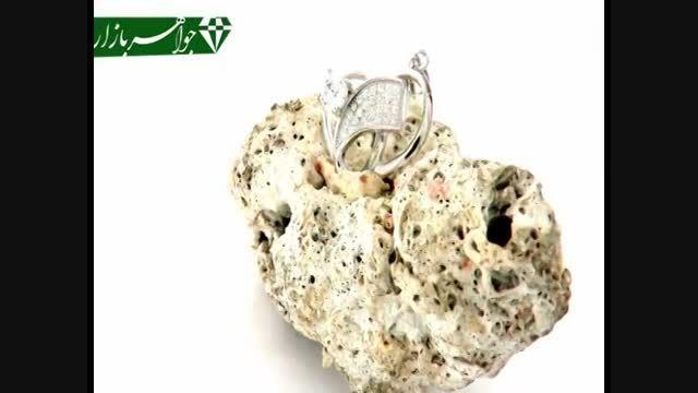 مدال نقره طرح قلب زنانه - کد 5678