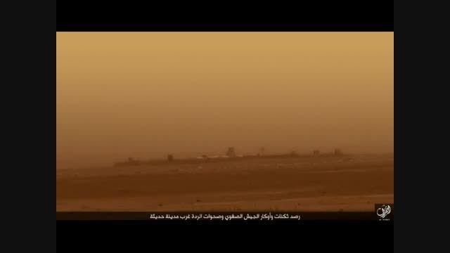حملات شدید موشکی داعش به شهرستان حدیثه در غرب عراق