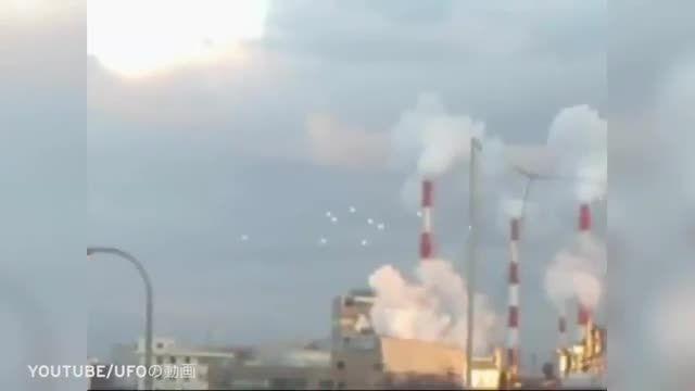 موجودات فضایی مرموز در آسمان ژاپن!!