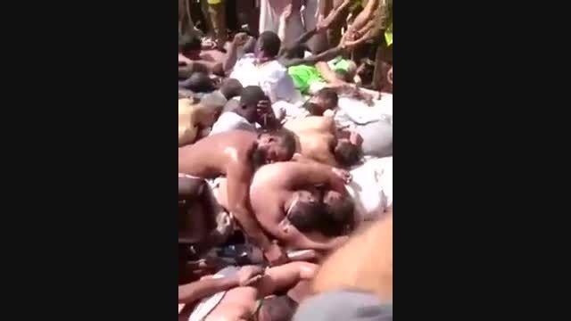 اجساد کشته شدگان حادثه منا