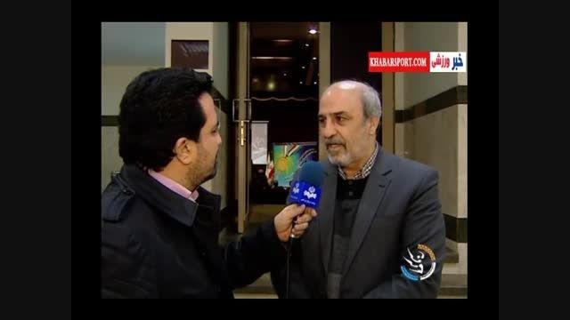 نظر وزیر ورزش در مورد عملکرد تیم ملی فوتبال