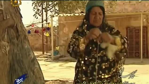مستند قالیبافی قشقایی روستای هوره هفتکل