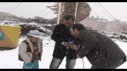 برف بهاری در شهر چشمه های بهشتی