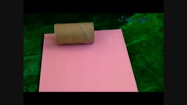 کاردستی جغد کاغذی