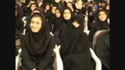 اجرای زیبای حسن ریوندی در دبیرستان دخترانه