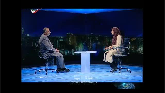 گفتگوی جنجالی با حسام الدین آشنا در برنامه زنده