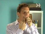 طریقه صحیح استفاده از نخ دندان
