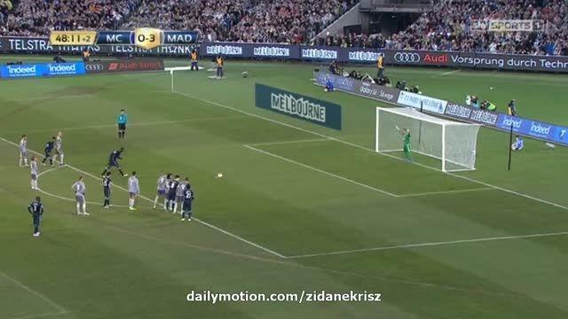 رئال مادرید 3 - 1 منچستر سیتی (گل پنالتی یحیی توره) HD