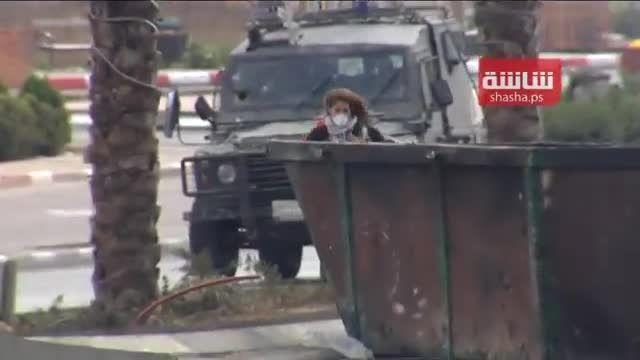بازداشت وحشیانه دختر نوجوان فلسطینی