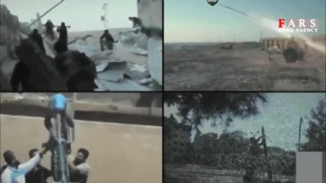 لشکرکشی داعش با نظاره گری آمریکا/ بمباران نمایشی داعش