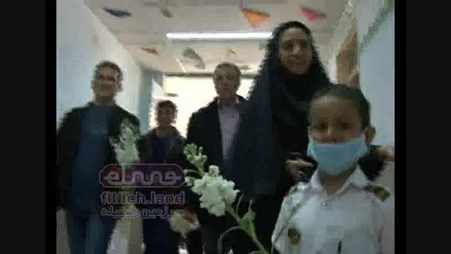 گزارش فیتیله ای - عیادت از بیمارستان شهید صدوقی یزد